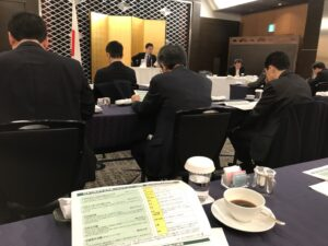 Attending Rep Kanda morning seminar